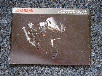 Javascript är inaktiverat. - Oxelösund - Yamaha MC och Maxi skotrar 2002 79sidor Beg i ny- skick. Jag samfraktar. - Oxelösund