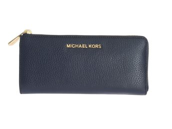 Michael Kors - Navy Blue BEDFORD Leather Wallet