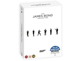 James Bond / Complete collection (24 DVD)