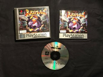 RAYMAN PLAYSTATION 1 PS1 PSONE UBISOFT