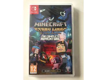 Minecraft Story Mode The Complete Adventure - Switch - NYTT