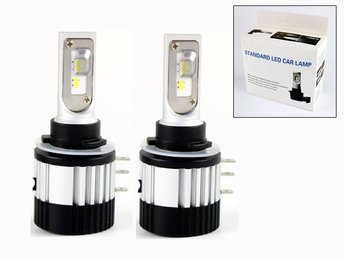 V11 Led H15  6000 lumen 66w halvljus kit 12v 24v