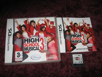 HIGH SCHOOL MUSICAL 3 SENIOR YEAR - NINTENDO DS - KOMPLETT