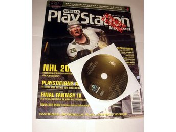 PLAYSTATION Mag  Nr37  HELT NY med CD DEC2000  NHL 2001 mm.