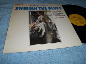 Soul Brothers At Home - Swingin' The Blues (LP) Sve Hammond 1985 VG++/EX