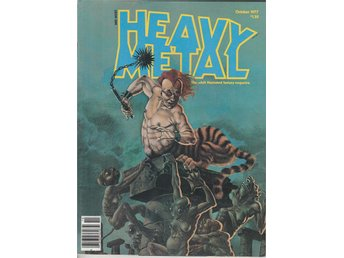 HEAVY METAL ADULT FANTASY MAGAZINE OCTOBER 1977
