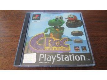 Croc: legend of gobbos - orginal - PS1 - Playstation - Spånga - Croc: legend of gobbos - orginal - PS1 - Playstation - Spånga
