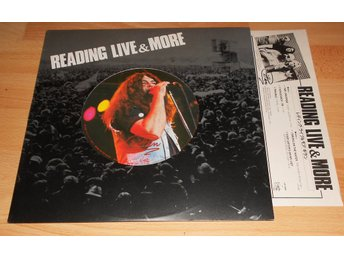 "GILLAN (DEEP PURPLE) - Reading Live & More, 5-TRACK JAPAN 12"" W. INSERT 1980"