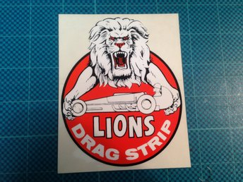 Dekal Lions Drag strip