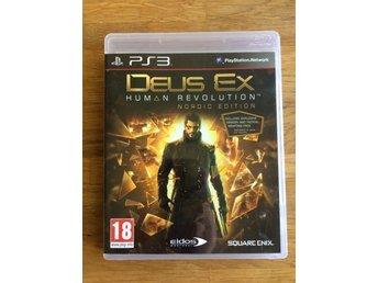 Javascript är inaktiverat. - Teckomatorp - Säljer ett exemplar av spelet Deus Ex Human Revolution Nordic Edition till PlayStation 3. Bra begagnat skick! - Teckomatorp