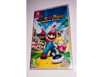 Mario + Rabbids Kingdom Battle // Nintendo Switch // NY // Billigast 449 kr