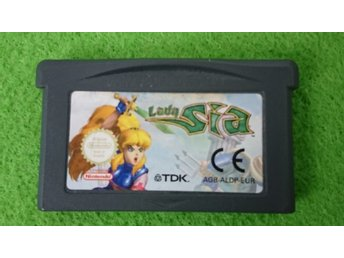 Lady Sia Gameboy Advance Nintendo GBA