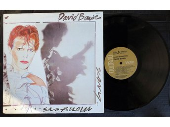 DAVID BOWIE - SCARY MONSTERS. LP.