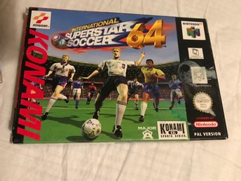 International Superstar Soccer 64 spel till N64