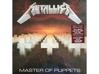 METALLICA - MASTER OF PUPPETS NY 180G LP