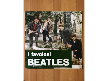 BEATLES I favolosi PARLOPHON ITALY