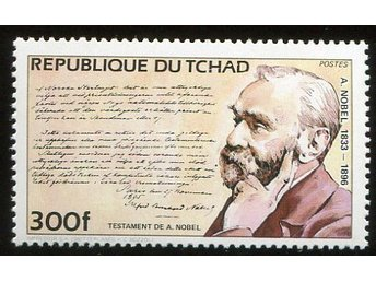Republique Du Tchad 1981 A.Nobel postfriskt