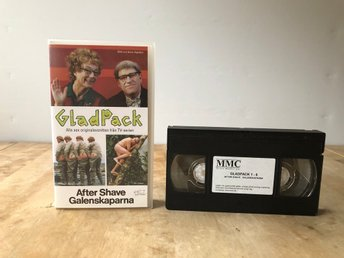 VHS Gladpack - After Shave Galenskaparna