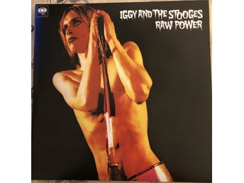 Iggy And The Stooges - Raw Power 2xvinyl Iggy Pop & Bowie mix med snygg booklet