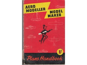 Aeromodeller model maker - plans handbook 1955 (på engelska)