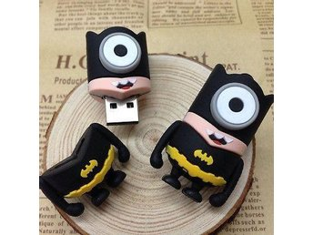 Usb 8GB Cartoon Minions Bat Man Model USB 2.0 Memory Flash