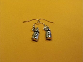 Nappflaska örhängen / Baby bottle earrings