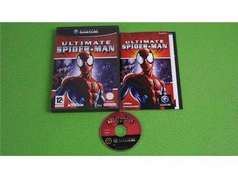 Ultimate Spider-Man ENGELSK UTGÅVA KOMPLETT GameCube Game Cube - Hägersten - Ultimate Spider-Man ENGELSK UTGÅVA KOMPLETT GameCube Game Cube - Hägersten