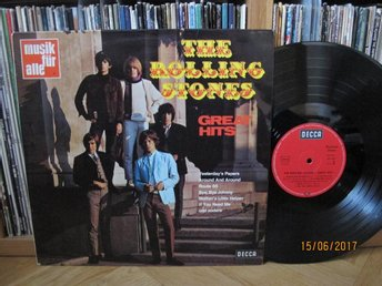 Rolling Stones - Great Hits, GER lp 1969