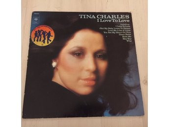 TINA CHARLES - I LOVE TO LOVE. (LP)