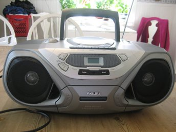 Philips, radio,cd, kasett.