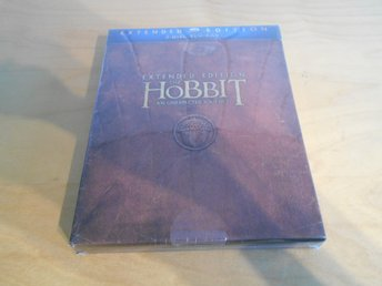 BLU-RAY - HOBBIT - BOX - EXTENDED VERSION - 3 disc