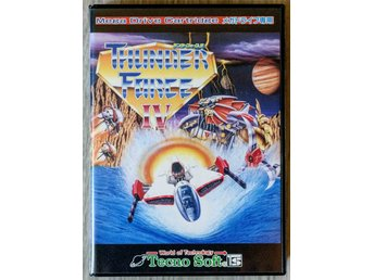 Thunder Force IV - Sega Mega Drive NTSC JAPAN