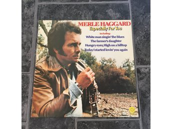 MERLE HAGGARD - ESPECIALLY FOR YOU. (LP)
