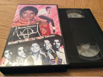 MICHAEL JACKSON   THE LEGEND CONTINUES VHS