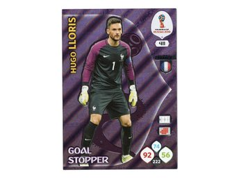 2018 Panini Adrenalyn XL FIFA World Cup Russia Goal Stopper Hugo Lloris