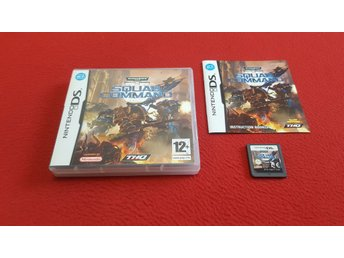 WARHAMMER SQUAD COMMAND till Nintendo DS NDS