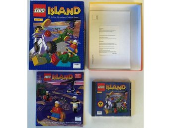 LEGO Island - PC, Windows 95 - CIB, Complete in box, Big box - 1997
