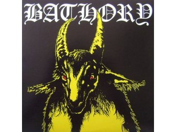 Bathory -S/t lp Yellow goat Quorthon MISSPRESSED 2 black vin