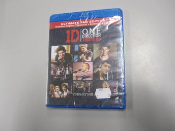 One Direction - This is us - Blu-ray - Inplastad