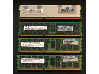 4 x 8GB (32Gb) 2Rx4 PC3-10600R DDR3-1333 Registered-ECC