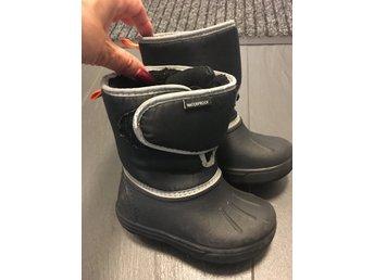 Svarta vattentäta stövlar (397103198) ᐈ Köp på Tradera