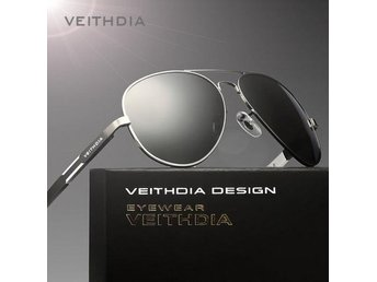 (SKU00136) VEITHDIA Polarized Men's Sunglasses(Frame Black)