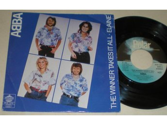 Abba 45/PS The winner takes it all 1980