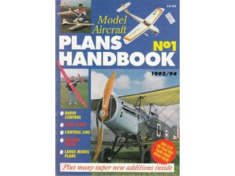 Model aircraft plans handbook 1993-94 (på engelska)