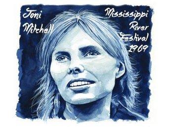 Mitchell Joni: Mississippi River Festival '69 (CD) - Nossebro - Mitchell Joni: Mississippi River Festival '69 (CD) - Nossebro