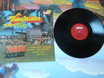 HAWAIIAN HITS, THE KALUAS, HEAVENLY ISLAND,  LP, LP-SKIVA