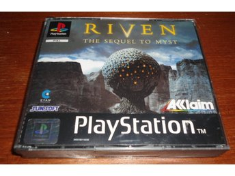 Riven The Sequel To Myst - PS1 / Playstation 1