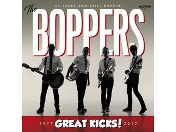 Boppers: Great kicks! 1977-2017 (Vinyl LP)