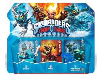 Skylanders Trap Team Triple Pack: Blades, Torch, Tidal Wave Gill Grunt (2014)