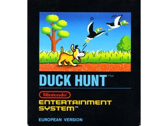 Duck Hunt - NES - Kassett